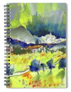 Mojacar In Spain 01 Spiral Notebook