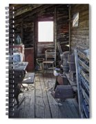 Molson Ghost Town Storage Shed Spiral Notebook