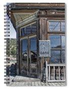 Molson Washington Ghost Town Bank Spiral Notebook