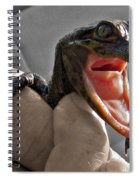 Mommy The Human Caught Me Spiral Notebook