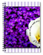 Moms Day Humor Card Spiral Notebook