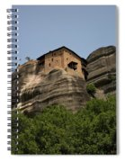Monastery Of Saint Nicholas Anapafsas Spiral Notebook