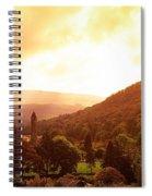 Monastic Site, Glendalough, Co Wicklow Spiral Notebook