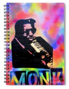 Monk Spiral Notebook