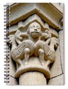 Monkey Man With Birds Spiral Notebook