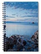 Mono Lake After Sunset Spiral Notebook