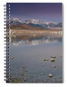 Mono Lake Panorama Spiral Notebook