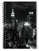 Monochrome City Spiral Notebook