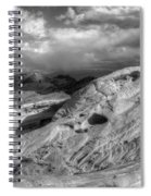 Monochrome Landscape Project 2 Spiral Notebook