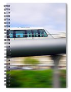 Monorail Carriage Spiral Notebook
