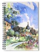 Monpazier In France 01 Spiral Notebook