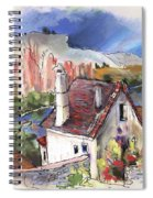 Monpazier In France 05 Spiral Notebook