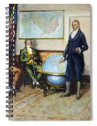 Monroe Doctrine, 1823 Spiral Notebook