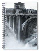 Monroe St Bridge 2 - Spokane Washington Spiral Notebook