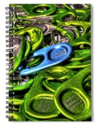 Monster Can Tabs Detroit Mi Spiral Notebook