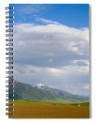 Montana Ploughed Earth Field Spiral Notebook