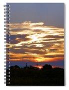 Montana Sunset Spiral Notebook