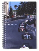 Monte Carlo Casino Corner Spiral Notebook