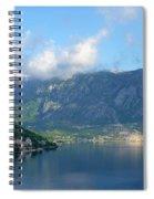 Montenegro's Bay Of Kotor Spiral Notebook