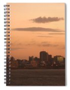Montevideo Skyline At Sunrise Spiral Notebook