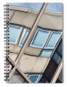 Montreal Reflections Viii Spiral Notebook