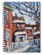 Montreal Scene 03 By Prankearts Spiral Notebook