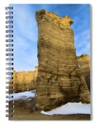 Monument Rocks Spiral Notebook