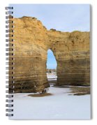 Monument Rocks Arch Spiral Notebook