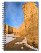 Monument Rocks In Kansas Spiral Notebook