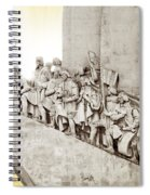 Monument To Discoveries Spiral Notebook