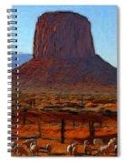 Monument Valley 2 Pastel Spiral Notebook
