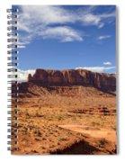 Monument Valley Arizona  Spiral Notebook