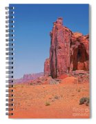 Monument Valley Elrphant Butte And Hogan Spiral Notebook