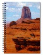 Monument Valley Pastel Spiral Notebook