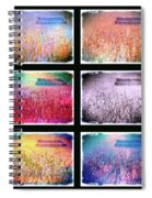 Moods Of The Harvest Spiral Notebook