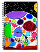 Moon Doggy Spiral Notebook