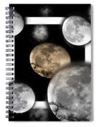 Moon From The Country Spiral Notebook