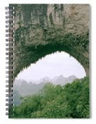 Moon Hill In Guangxi In China Spiral Notebook