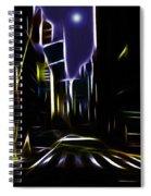 Moon Over Manhattan Spiral Notebook
