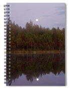 Moon Reflection Spiral Notebook