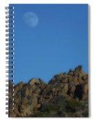 Moon Rise Joshua Tree Spiral Notebook
