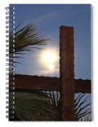 Moon Rising Four Spiral Notebook