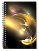 Moon Struck Spiral Notebook
