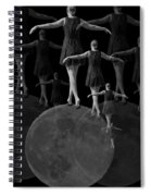 Moon Walking Spiral Notebook