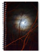Moonlight By The Camp Fire Spiral Notebook