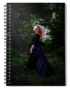 Moonlight Calls Me Spiral Notebook