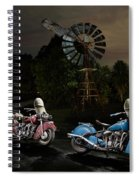 Moonlight Indian Chief Spiral Notebook