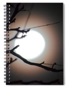 Moonlit Pink Spiral Notebook