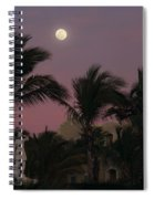 Moonlit Resort Spiral Notebook