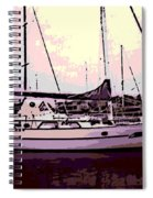 Moored Spiral Notebook